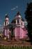 Перед Кафедральным собором установлена статуя украинского епископа Буковины Евгения Гакмана , благодаря немалым усилиям которого и было организовано строительство ...
