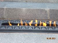 Вечный огонь на Диораме