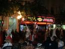 Общины выходят со своими процессиями в определенные дни, которые определены и годами не меняются. На фото - община Святой Вечери, которая согласно библейским сказаниям как раз в четверг и состоялась.