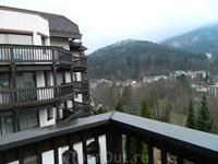 Б-Х. Вид с балкона отеля.