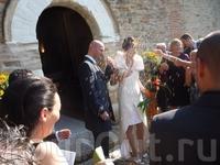 апофеоз прекрасной свадебной церемонии