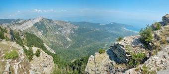 Виды с горы Ипсарио.