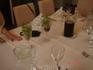такой свежей зеленью украшен стол в ресторане усадьбы священника