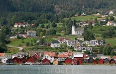 Норвежский городок.