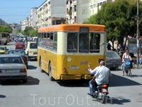 Маршрутный автобус - старье из старья