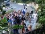 Большая греческая свадьба - финальной аккорд церемонии. Собственно. еда, напитки, празднование в ресторане также под Ханьей.