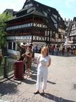Одно из многочисленных немецких зданий французского Страсбурга.