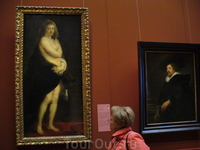 Музей истории искусства, Вена.Рубенс, Шубка