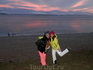 Пикник на озере. Приехали на 2 часа, а уехать смогли только через 6! Уже закат!