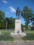 Шлиссельбург, памятник Петру I.
