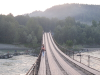 мост к озеру Ая