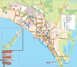 Карта города Бердянск