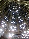 шпиль собора, вид изнутри