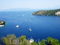 Чудесное синее море