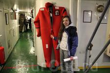 в таком костюмчике скоро будем погружаться в воды Ботнического залива