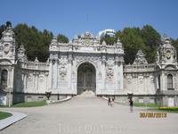Султанские ворота. Долмабахче