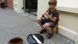 Таллинн. Хороший музыкант.