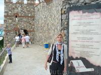 Старая крепость в Созополе  - на правой части мыса.
