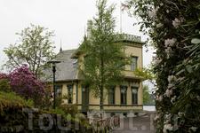 дом Эдварда Грига в Тролльхаугене