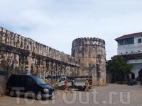 старый арабский форт