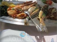 Ассорти из морепродуктов выше всяких похвал.