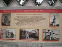 История реконструкции Архиерейского двора Суздальского Кремля