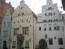 """дома """"3 брата"""", построенные в разных столетиях 16, 17 и 18"""