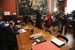 Момент подписания акта передачи Картины Матисс &quotТанец&quot на выставку