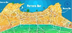 Карта бухт Паттаий