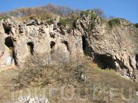 Джермук, вдоль Тропы Курортников, ущелье р. Арпа