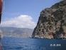 поворот к пляжу Клеопатры (яхт-тур)