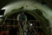 НО сначала нужно в нее спуститься 300 м под землю в тесном лифте.