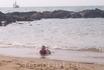 пляж Анжуны - не ахти какой)
