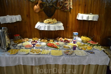 завтрак в нашем отеле