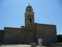 Муж.монастырь Топлу.На крыше.