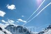 Небо, самолет...