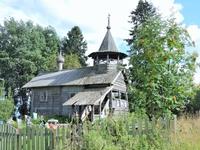 Это уже Часовня Петра и Павла в деревне Заозерье