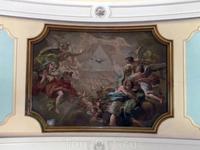 Роспись потолков работы братьев Веласкес.