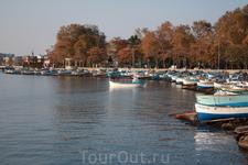 Лодки рыбаков