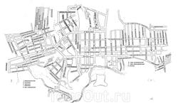 Карта города Острогожск с улицами