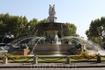 """По прилету в Ниццу отправилась в город Экс-ан-Прованс, где на  площади Свободы установлен красивейший фонтан """"Ротонда"""""""