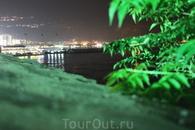 Вид ночной Будвы