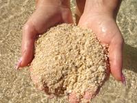 Песок на Bulabog Beach