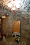 Комната где родилась Богородица.