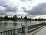 Озеро, на берегу которого стоит памятник. Здесь очень приятно прогуляться летом, можно взять на прокат лодочку и прокатиться по озеру. Размеры озера - ...