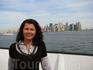 я на фоне Манхэттена