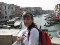 Венеция. Знаменитый мост.