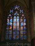 витражи  собора Святого Витта прекрасны,  грандиозны как и все в этом соборе