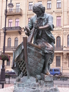 Фотография Царь-плотник - памятник Петру I