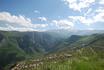 Вид со смотровой площадки, перед отправление по канатной дороге в Татев. Захватывает дух. Скользишь взглядом по горам и не перестаешь удивляться красоте ...